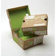 Embalagem dobrável impresso caixa de papel ondulado