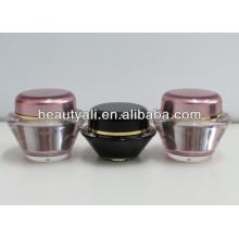 15ml 30ml 50ml Роскошные косметические пластиковые банки для крема