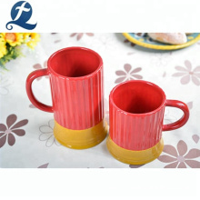 Taza de oficina de cerámica de color para tomar café, té, café, bebida personalizada