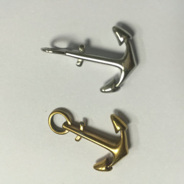 Perhiasan Kustom Stainless Steel Anchor Charms Fittings
