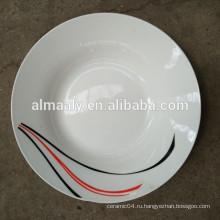 Комплекты Обедающего фарфора / лучшее качество сервизы/керамическая плита супа