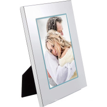 Custom wholesale high quality 5*7 inch Photo Frames white wooden Picture Frames with real glass for Freestanding and Wall Mounta