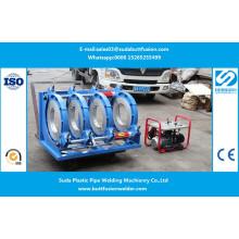 Máquina de soldadura dos encaixes de tubulação do HDPE de 280mm / 450mm Sud450h