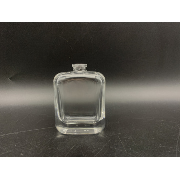 Flacon de parfum carré transparent de 30 ml