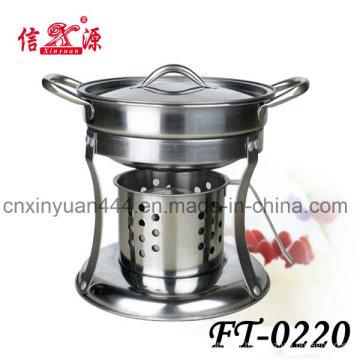 Горячий горшок из нержавеющей стали алкоголя плита (FT-0220)