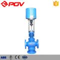 Válvula de controle de pressão de fluxo de vapor de 3 vias de controle elétrico