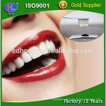 Ultra-feine Zähne der heißen Verkaufcoco-Holzkohle, die Puder weiß werden