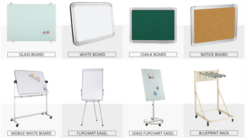 Magnetic White Board with Aluminum Frame