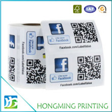 Cheap Self Adhesive Paper Barcode Label