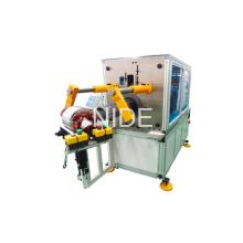 Type horizontal Auto Motor Stator Coil Insertion Inserter Machine