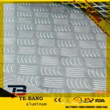 1100 Alloy diamond aluminium patterned plate/sheet