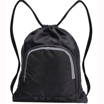 Back To School Nylon Drawstring Pouches