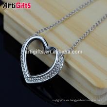 Artigifts Regalos promocionales Best Friends Heart Shaped Pendant Heart Necklace