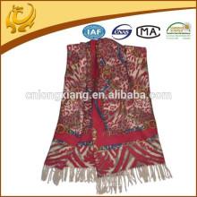 Matériel de laine 100% en laine de haute qualité dernières écharpes de châles de mode avec Tassel pour les femmes