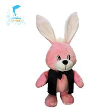 Brinquedos macios do bebê do luxuoso do coelho