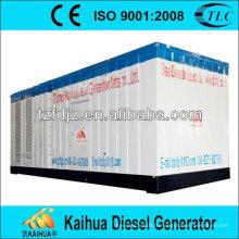 CE, ISO9001: 2008 Chine fait 2500kva / 2000kw moteur silencieux groupeet mtu