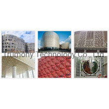 3D Cladding Perforated Acm Aluminum Solid Panel for Exterior Wall Sheet