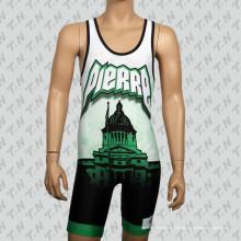 Kundenspezifischer niedriger Preis Polyester Sublimation Wrestling Einzelteile