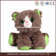 china manufacturer battery operated mini stuffed plush cat toy