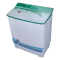 Green Glass Cover 8.5KG Twin Tub Mesin Cuci OEM