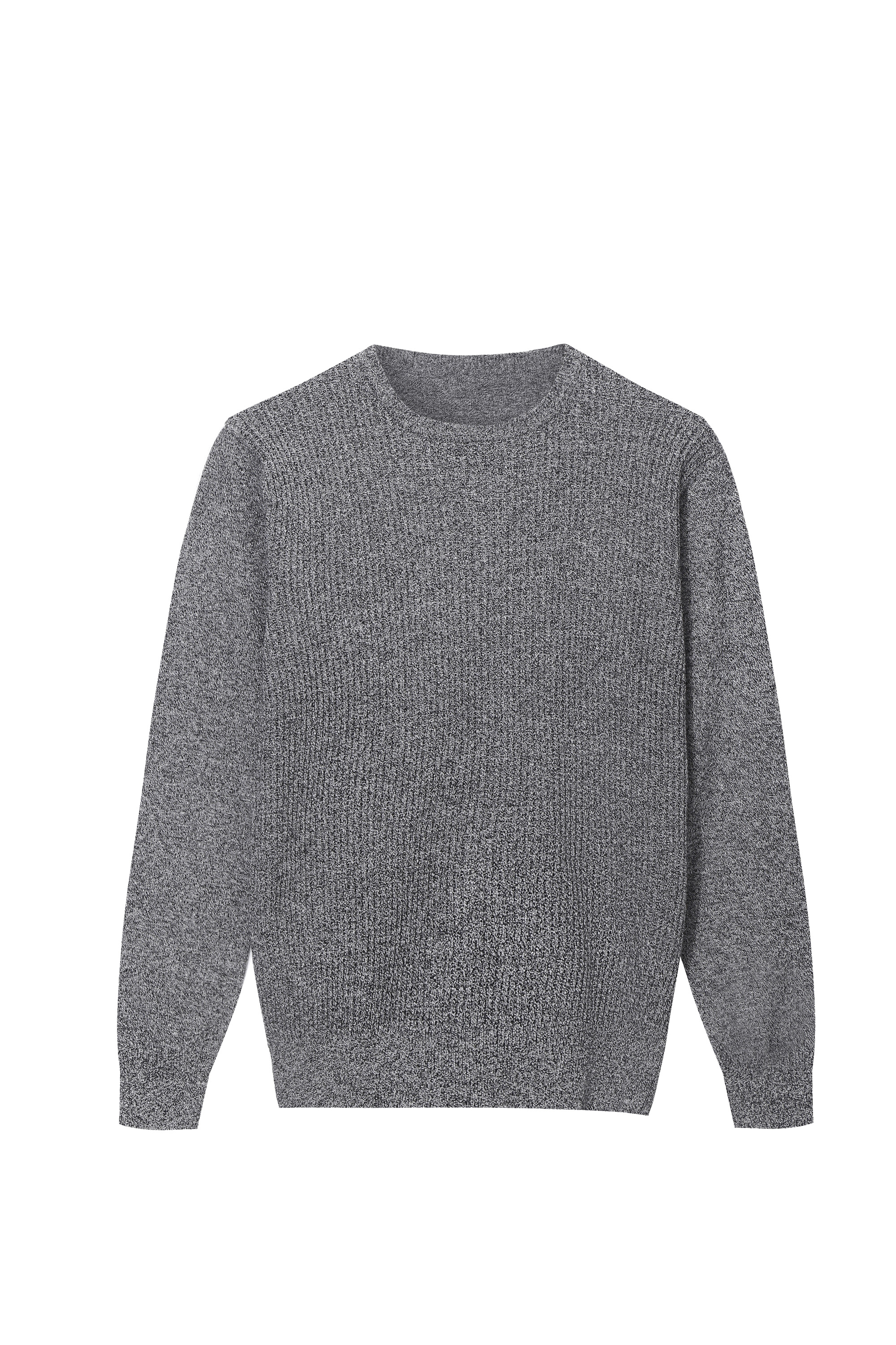 Men's Crew neck Cable texture Pullover