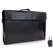 SHBC Hot Sale Fireproof Document Bag, Custom Waterproof And Fireproof Storage Bag With Lock