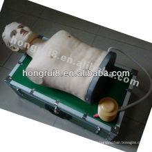 Thoracotomie ISO, Décompression de Pneumothorax Tension, Simulateur de Traitement Pneumothorax