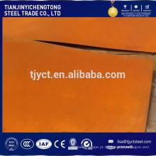 Folha de Corten / Corten (A, B) da placa de Corten de JIS G3125 SPA-H SPA-C 1.5mm