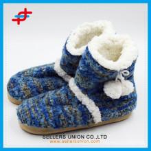 Winter Indoor/Outoor Warm Anti-slip Slipper Snow Boots