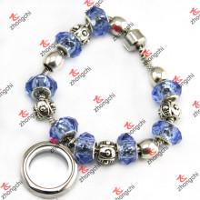 Moda Beads Pulseira Locket para jóias Pulseira Mulher (LB201)