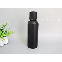 Garrafa de alumínio de alta qualidade da vodca com superfície de acabamento mate preta (PPC-AB-09)