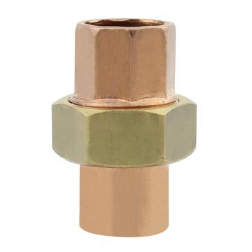Unión de cobre sin plomo