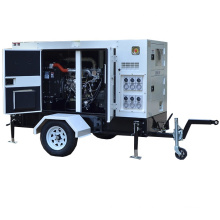 Top Quality 60kva 48kw Trailer Diesel Generator By India Perkin Engine 1103A-33TG2 For Restaurant Use