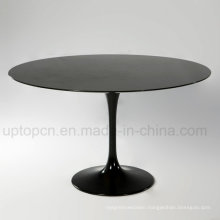 Best-Selling Trumpet Base Stone Restaurant Cafe Dining Table (SP-GT109)