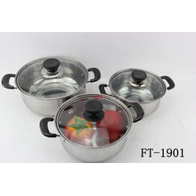 Stainless Steel Small Soup Pot (FT-1901-XY)