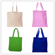 Multicolored simple portable shopping bag custom