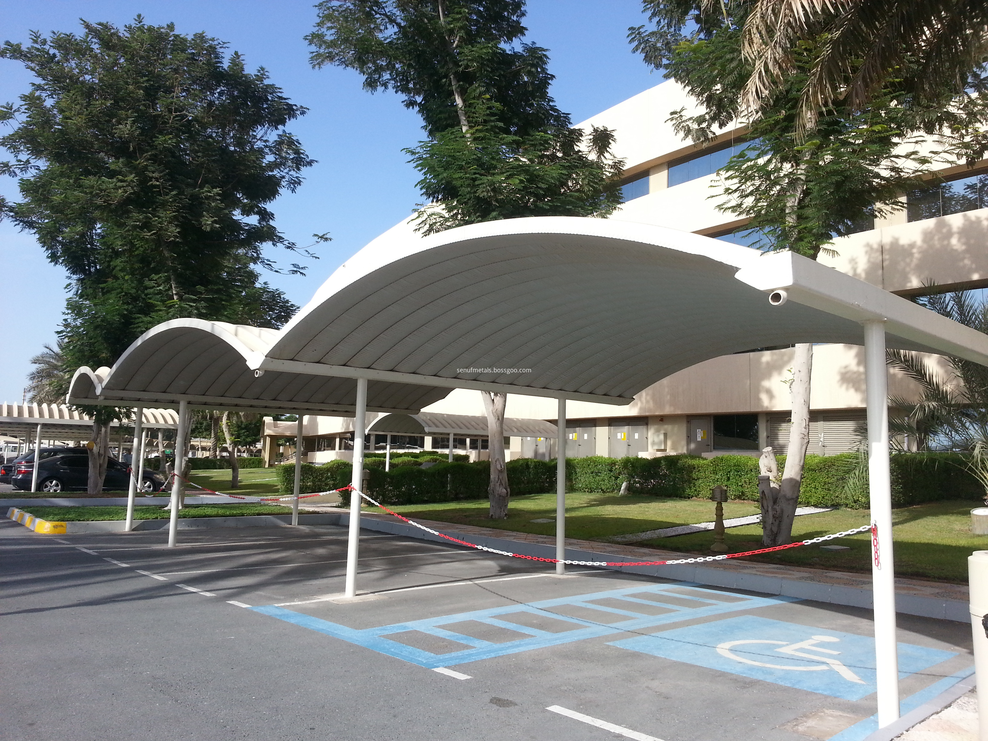 Arch Sheet Big Span For Parking