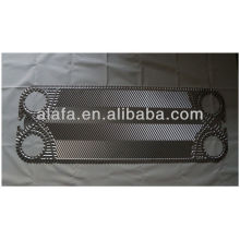 Vicarb V60 related titanium plate for heat exchanger