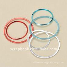 Multicolor Runde Bild Rahmen Metall