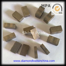 Segmentos de diamante para pulido de piso