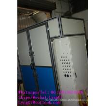 Escova de fio de aço de alta velocidade automática de alta velocidade do CNC da linha central 4 que faz a máquina