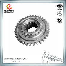 CNC Machining Bevel Gear Customized Steel Gear with Turning