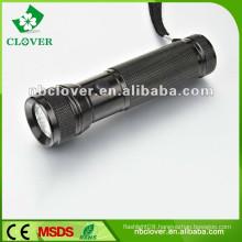Professional 12000-15000MCD 12 led mini aluminum led flashlight torch