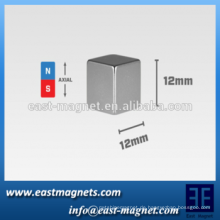 "2015 fertigen quadratischen Magneten, 12mm Würfel (0.47 "") / nickle quadratischen Magneten an"