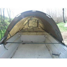 420cm breites Fischerboot mit Zelt