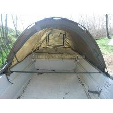 420cm breiter Fischerboot mit Zelt