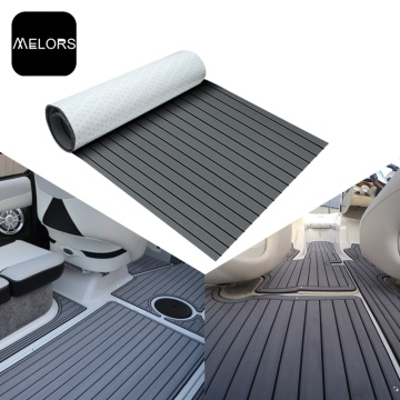 Melors EVA Flooring Flooring Fuax Teak Sheet Grey