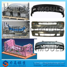 plastic injection mould of the bumper mould