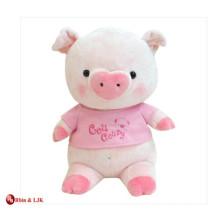 custom promotional lovely pig plush toys