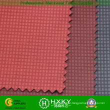 Checks Embossing Polyester Compound Fabric for Jacket